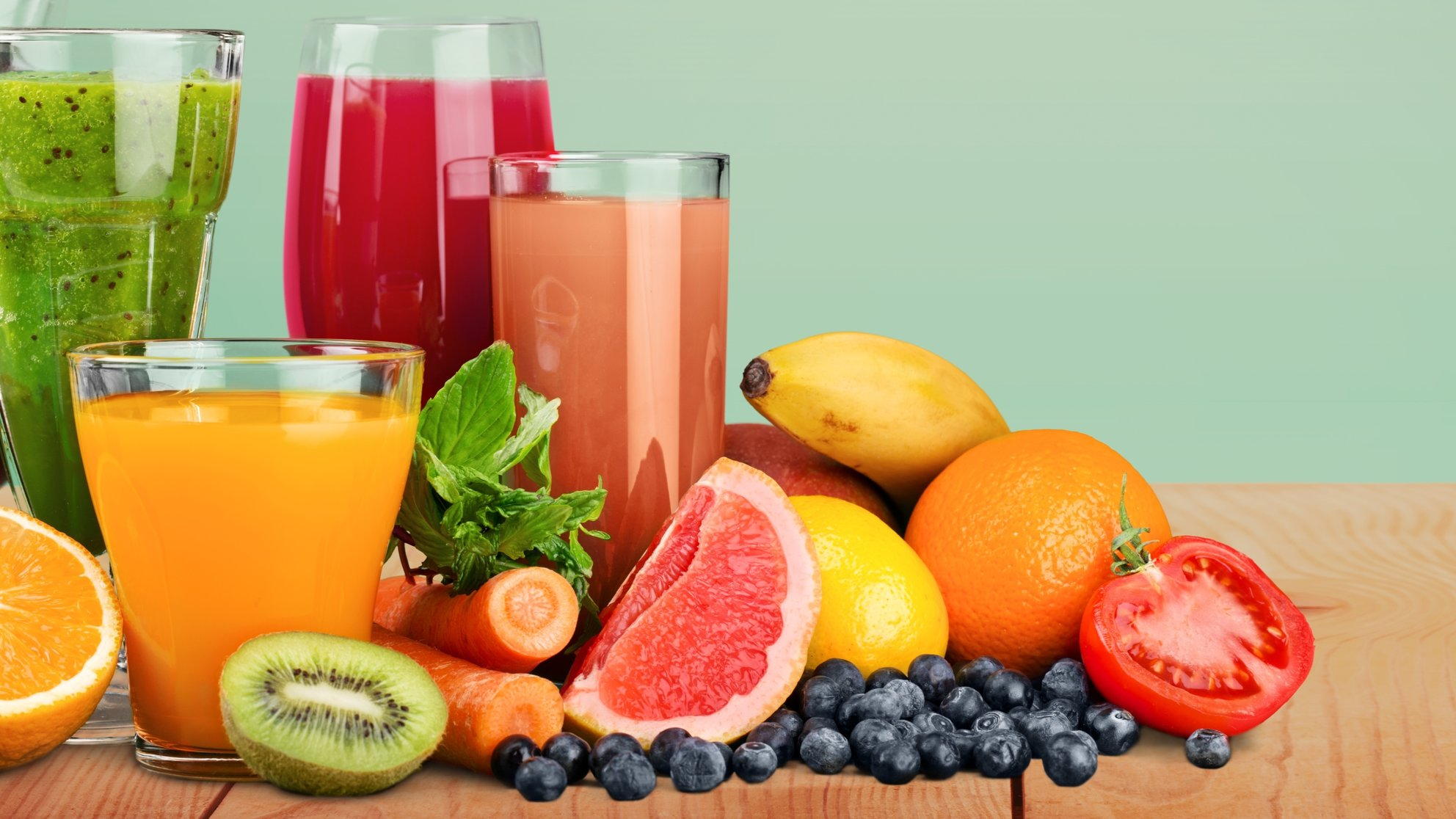 Which natural juices are the healthiest?